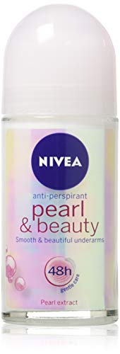 Nivea PEARL & BEAUTY Women's Roll-On Antiperspirant & Deodorant