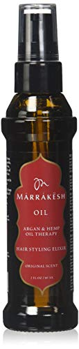 Marrakesh Hair Care Argan and Hemp Styling Oil - Coco Mink Lashes