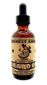 Honest Amish - Classic Beard Oil - 2 Ounce - Coco Mink Lashes