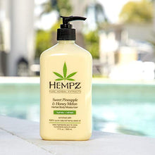 Load image into Gallery viewer, Hempz Sweet Pineapple & Honey Melon Moisturizing Skin Lotion - Coco Mink Lashes