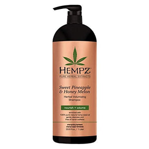 Hempz Sweet Pineapple & Honey Melon Shampoo & Conditioner - Coco Mink Lashes