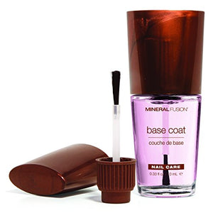 Mineral Fusion Nail Polish Base Coat, 0.33 Ounce - Coco Mink Lashes