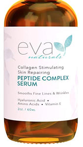 Peptide Complex Serum by Eva Naturals (2 oz) - Coco Mink Lashes