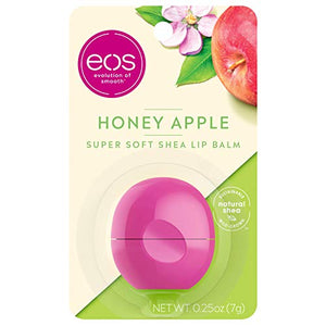 Eos Super Soft Shea Sphere Lip Balm - Honey Apple - Coco Mink Lashes