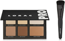 Load image into Gallery viewer, LORAC PRO Contour Palette & Contour Brush, Multi - Coco Mink Lashes