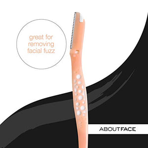 Kai About Face Fuzz-Free Facial Beauty Groomer (3 per Package)