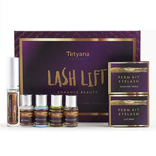 Load image into Gallery viewer, Tetyana naturals Eyelash Perm Kit, Professional Quality for Lash Lift