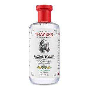 Thayers Alcohol-Free Cucumber Witch Hazel Facial Toner with Aloe Vera Formula - Coco Mink Lashes