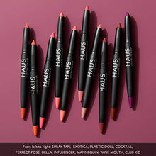 Load image into Gallery viewer, HAUS LABORATORIES By Lady Gaga: LE MONSTER MATTE LIP CRAYON, Spray Tan