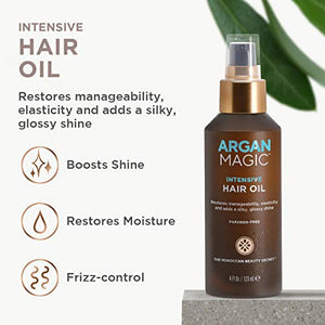 Intensive Hair Oil, the Moroccan Secret, 3.75 Oz