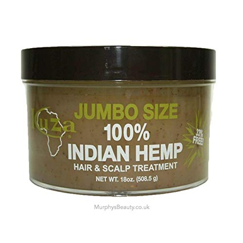 Kuza 100% indian Hemp Hair & Scalp Treatment - Coco Mink Lashes