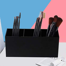 Load image into Gallery viewer, Weiai Black Makeup Brush Holder Organizer