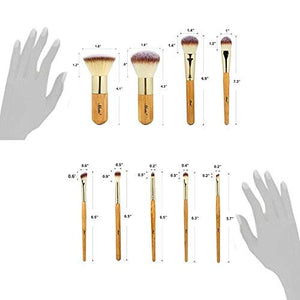 Matto Makeup Brushes 9-Piece