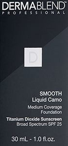 Dermablend Smooth Liquid Camo Foundation for Dry Skin with SPF 25, 1 Fl. Oz. - Coco Mink Lashes