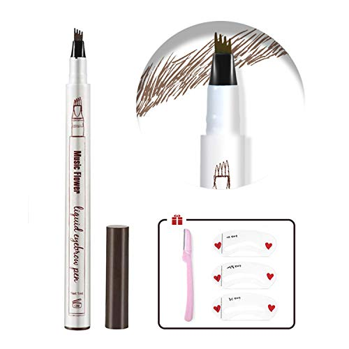 Eyebrow Tattoo Pen,Tat Brow Microblading Eyebrow Pencil - Coco Mink Lashes