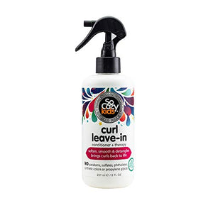 SoCozy Curl Leave-In Conditioner Spray For Kids Hair - Coco Mink Lashes
