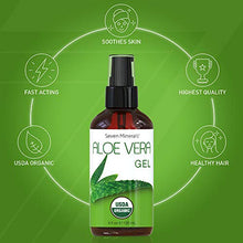 Load image into Gallery viewer, Organic Aloe Vera Gel USA Grown 100% Pure Free of GMOs - Coco Mink Lashes