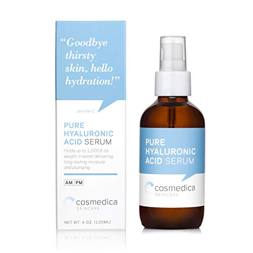 Cosmedica Hyaluronic Acid Serum for Skin – 4 Fl. Oz