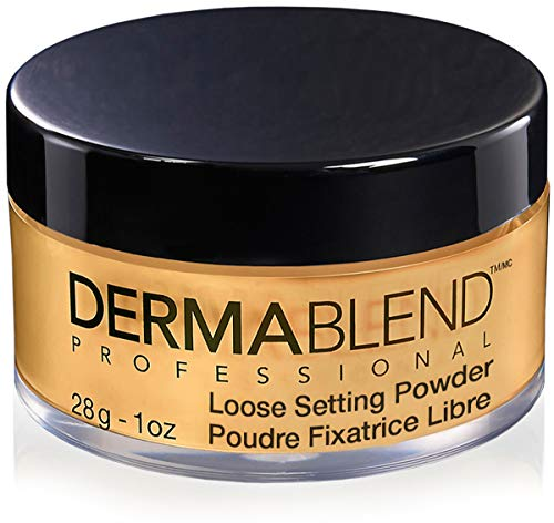 Dermablend Loose Setting Powder Warm Saffron - Coco Mink Lashes