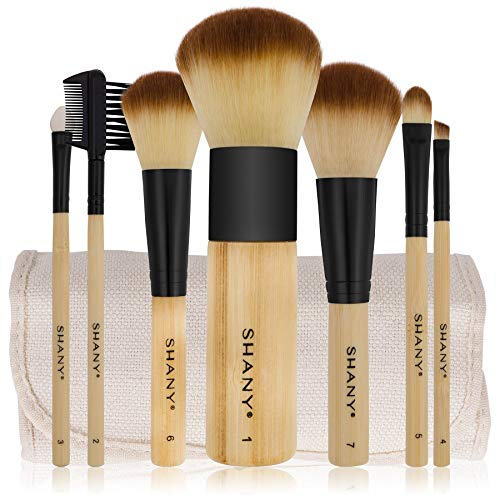SHANY Bamboo Vegan Brush Set - Coco Mink Lashes