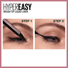Load image into Gallery viewer, Maybelline Hyper Easy Liquid Pen No-Skip Eyeliner, Satin Finish, Waterproof Formula