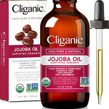 Load image into Gallery viewer, Cliganic USDA Organic Jojoba Oil - Coco Mink Lashes
