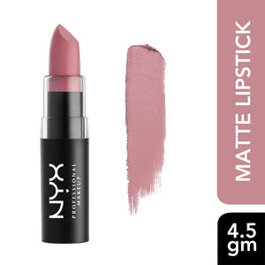 NYX PROFESSIONAL MAKEUP Matte Lipstick, Natural - Coco Mink Lashes