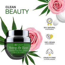 Load image into Gallery viewer, CLAIR BEAUTY Hemp & Rose Nourishing Day Cream - Coco Mink Lashes