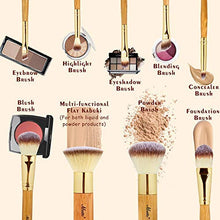 Load image into Gallery viewer, Matto Makeup Brushes 9-Piece