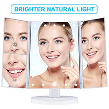 Load image into Gallery viewer, Wondruz Makeup Mirror Vanity Mirror with Lights