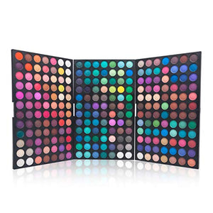 Pure Vie Professional 252 Colors EyeShadow Palette Makeup Contouring Kit