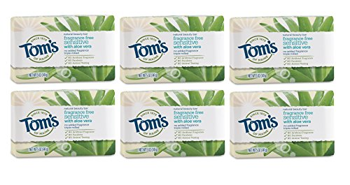 Tom's of Maine Natural Beauty Bar Soap with Aloe Vera
