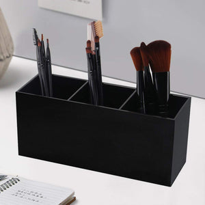 Weiai Black Makeup Brush Holder Organizer - Coco Mink Lashes
