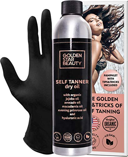 Self Tanner - Sunless Tanning Oil, Organic Spray Tan