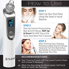 Load image into Gallery viewer, Olrom Blackhead Remover – Electric Vacuum Suction Blackhead Remover w/LED Display