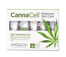 Load image into Gallery viewer, Andalou Naturals Cannacell Botanical  Kit - Coco Mink Lashes