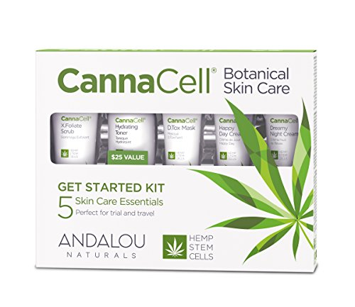 Andalou Naturals Cannacell Botanical  Kit - Coco Mink Lashes