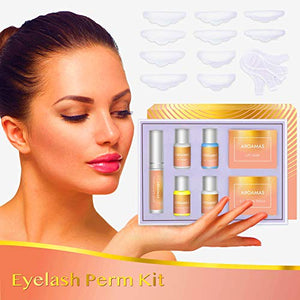 Aroamas Eyelash Perm Kit Full Eyelash Lift Kit - Coco Mink Lashes