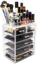 Load image into Gallery viewer, Sorbus Cosmetic Makeup and Jewelry Storage Case Display