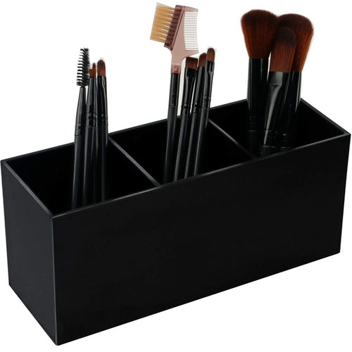 Weiai Black Makeup Brush Holder Organizer
