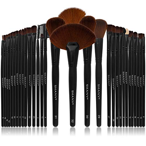 SHANY Professional 32 Piece Brush Set - Coco Mink Lashes