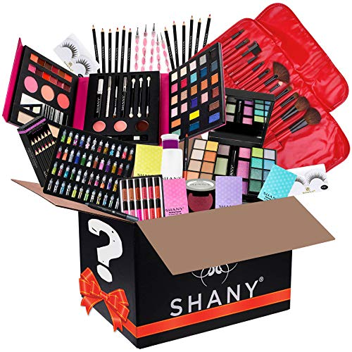 SHANY All in One Makeup Bundle - Includes Pro Makeup Brush Set, Eyeshadow Palette,Makeup Set or Lipgloss Set and etc. - COLORS & SELECTION VARY - Coco Mink Lashes