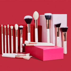Jessup Brand 25pcs Professional Makeup Brush set - Coco Mink Lashes