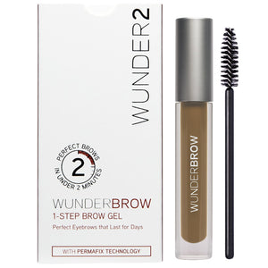 WUNDER2 WUNDERBROW Waterproof Long Lasting Eyebrow Gel - Coco Mink Lashes