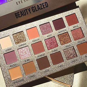 Beauty Glazed New Nude Eyeshadow Palette - Coco Mink Lashes