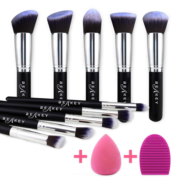 BEAKEY Makeup Brush Set, Kabuki
