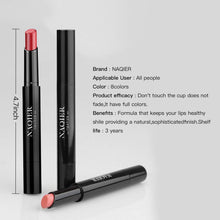 Load image into Gallery viewer, NAQIER Matte Lipstick Set, 8PCS - Coco Mink Lashes