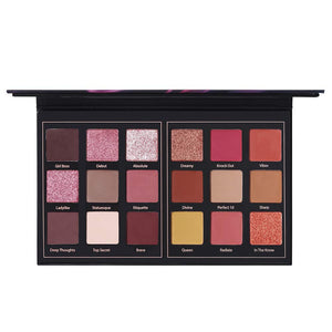 Matte Eyeshadow Palette Pro 18 Colors - Coco Mink Lashes