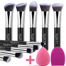 Load image into Gallery viewer, BEAKEY Makeup Brush Set, Kabuki - Coco Mink Lashes