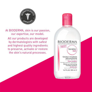 Bioderma Makeup Remover Sensitive Skin - Coco Mink Lashes